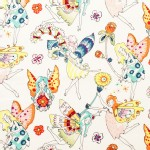 Alexander Henry Fabrics - Everyday Eden - Flower Fairies in Bright