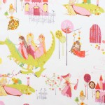 Alexander Henry Fabrics - Kids - Princess Kingdom in Natural