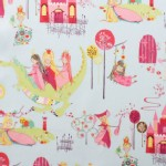 Alexander Henry Fabrics - Kids - Princess Kingdom in Baby Blue