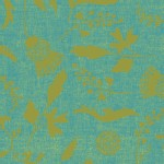 Andover - Ex Libris - Botany Chambray in Bluegrass