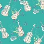 Art Gallery Fabrics - AGF Collection - Anna Elise - Let It Be in Breeze