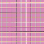 Art Gallery Fabrics - AGF Collection - Playing Pop - Plaid Beat in Grape