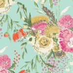 Art Gallery Fabrics - AGF Collection - Wild Bloom - summer Bouquet in Clear