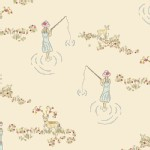 Art Gallery Fabrics - Emmy Grace - Fawn Day in Fantasy