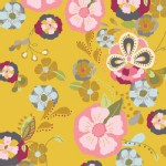 Art Gallery Fabrics - Emmy Grace - Floral Floats in Field