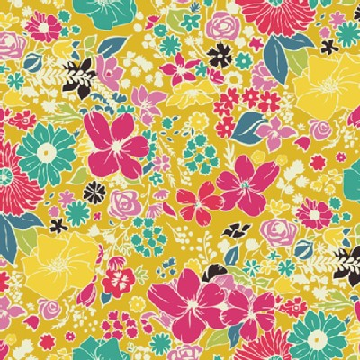 Art Gallery Fabrics - Fusion - Fashion Scent in Abloom