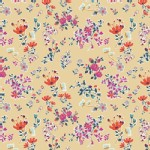 Art Gallery Fabrics - Fusion - Cottagely Posy in Boho