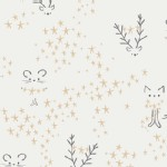 Art Gallery Fabrics - Holiday - Little Town - Starbright in Frost