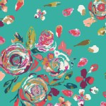 Art Gallery Fabrics - Knits - Swifting Flora in Boho
