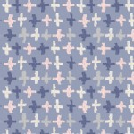 Art Gallery Fabrics - Knits - Wonderful Things - Joy Crossroads in Azure