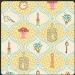 Art Gallery Fabrics - LillyBelle - French Sampler in Cream