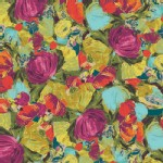 Art Gallery Fabrics - Sage - Cactus Flora in Berry