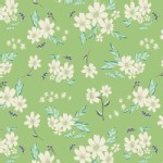Art Gallery Fabrics - Winged - Flyaway Petalums in Vert
