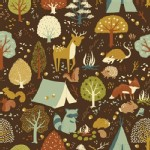 Birch Fabrics - Fort Firefly - Critter Camp in