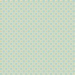 Blend Fabrics - Anna Griffin - Rose Garden Lattice in Blue