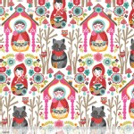 Blend Fabrics - Riding Hood - Riding Hood Story in White