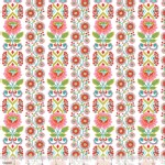 Blend Fabrics - Riding Hood - Ribbon Bloom in White