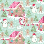 Blend Fabrics - Sugar Rush - Gingerbread Dream in Blue