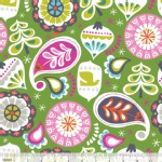 Blend Fabrics - Treelicious - Holiday Baubles in Green
