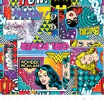 Camelot Fabrics - Girl Power 2 - Action Panels in Multi