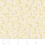 Camelot Fabrics - Heavy Metal - Cheetah in Gold Metallic