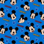Character Prints - Mickey - Mickey Expressions in Blue