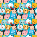Character Prints - Mickey - Tsum Tsum in Blue