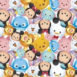 Character Prints - Mickey - Tsum Tsum in White