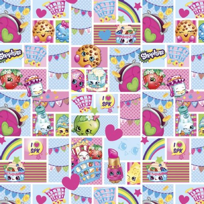 Character Prints - Other Characters - Shopkins Patch in Blue