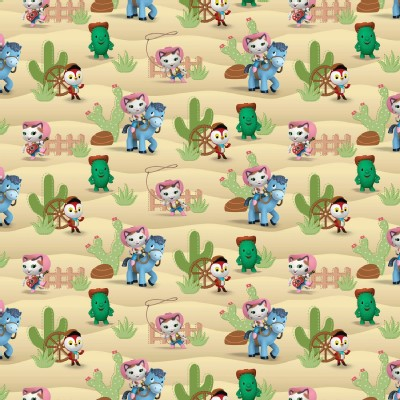 Character Prints - Other Characters - Sheriff Callie Western in Tan