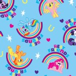Character Prints - Other Characters - My Little Pony Pal Rainbows in Blue
