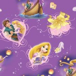 Character Prints - Princess - Rapunzel and Prince in Purple