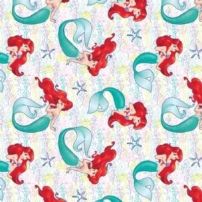 Character Prints - Princess - Little Mermaid Dream in White