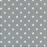 Cotton And Steel - Wonderland - Caterpillar Dots in Grey