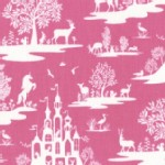 Dear Stella - Kids - Pixie Dust - Fairy Toile in Fuchsia