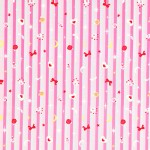 Lecien - A Girls Story - Cinderella Border in Pink