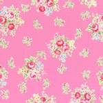Lecien - Flower Sugar 2014 Fall - Med Florals in Pink