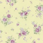 Lecien - Rococo Sweet 2015 - Medium Floral Bouquet in Soft Yellow