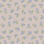 Lewis And Irene - Flos Wildflowers - Bluebells in Linen