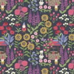 Lewis And Irene - Grandmas Garden - Grandmas Garden in Dark Grey