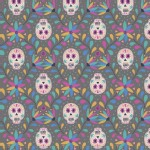 Lewis And Irene - Paracas - Skulls in Grey