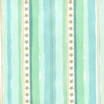 Michael Miller Fabrics - Magic - Stars and Stripes in Aqua