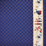 Michael Miller Fabrics - Nutcracker - Act I Border in Navy