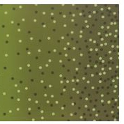 Moda Fabrics - Basics - Ombre Confetti Metallic in Avocado