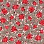 Moda Fabrics - Return Winters Lane - Floral in Taupe