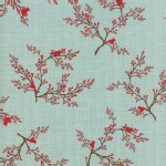 Moda Fabrics - Return Winters Lane - Main in Mint
