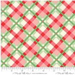 Moda Fabrics - Swell Christmas - Plaid in Green Red