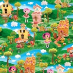 Quilting Treasures - Lalaloopsy - Scenic in Multi
