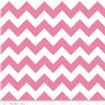 Riley Blake Designs - Hollywood - Sparkle Chevron in Hot Pink