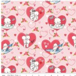 Riley Blake Designs - Kewpie - Main in Pink